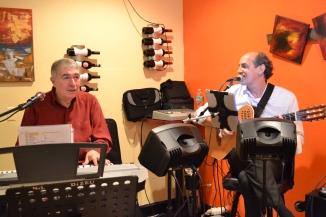 Maestro Nilson Dizeu and Beto Araujo