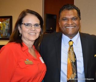 CFBACC Vice President Lis Rejane Sommerville an OCPA Rick Singh