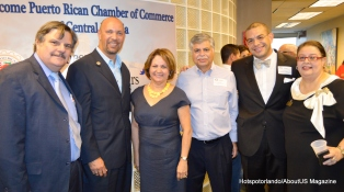 Puerto Rico Chambe Officers and Khalid Muneer, and Euri Cerrud