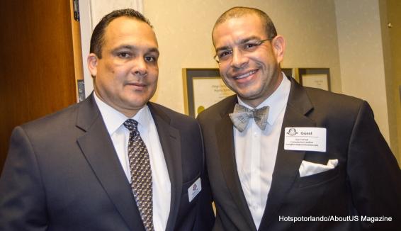 Euri Cerrud and a Radames Tirado OCPA Operations Manager