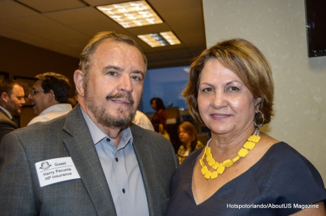 PRCC President Maria Luyanda and Mr. Jaramillo
