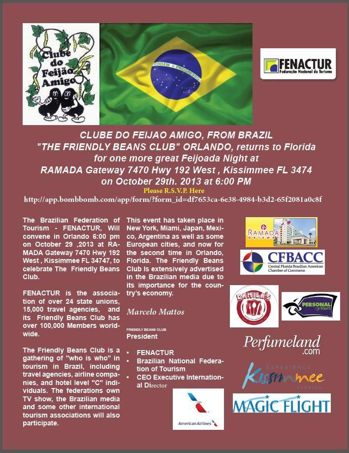 Club of friendly Beans-FENACTUR-Clube do Feijao Amigo