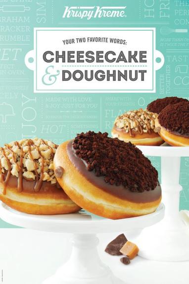 Cheesecake Doughnuts January 2014