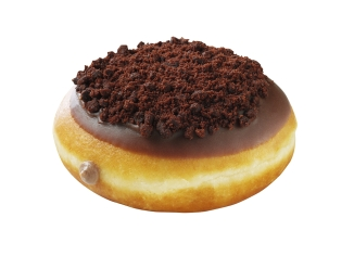 New Chocolate Cheesecake Doughnut at Krispy Kreme
