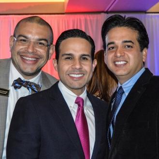 Euri Cerrud, Luis Martinez and Oscar ortiz