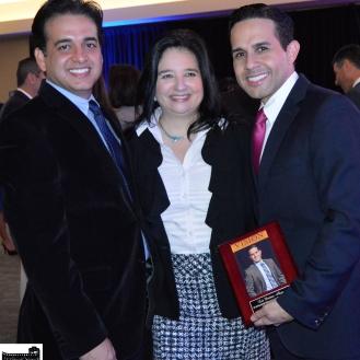 Oscar, Diana Bolivar, and Luis