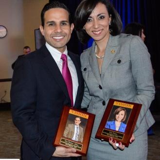 Gabi Ortigoni and Luis Martinez