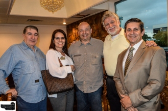 Nilson Dizeu, CFBACC VP Internal Affairs Lis Sommerville Mauricio Bianchi, Kiryl, and Volney Rosa