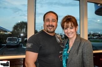 Board Director Simone and husband Mr. Villanueva