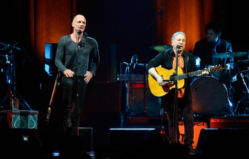 LIVE NATION PAUL SIMON & STING: ON STAGE TOGETHER