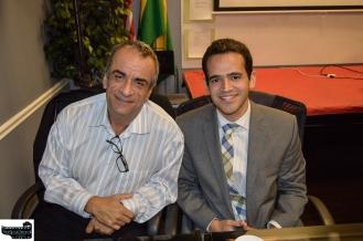 Carlos Borges & Consul Fernando M. Arruda