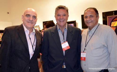 Eraldo Manes,Luiz Piquet and friend
