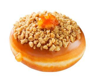 Krispy Kreme Caramel Apple Pie Doughnut
