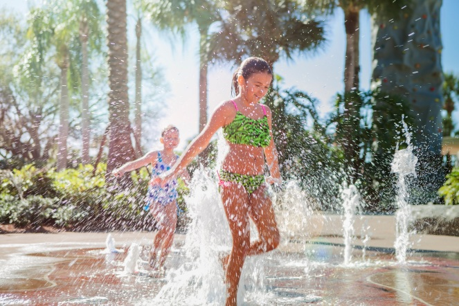Water Jet Splash Zone at Hyatt Regency Grand Cypress SMALL
