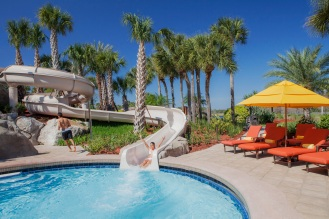 Water Slide Tower Pavilion at Hyatt Regency Grand Cypress SMALL