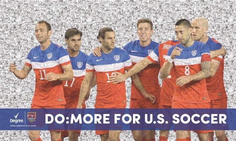 Degree Men US Soccer Fan Banner