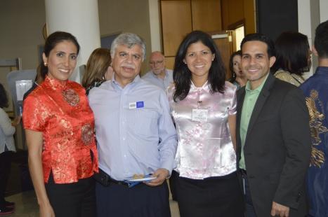 Monica Correa, Khalid Muneer, iris, Luis Martinez