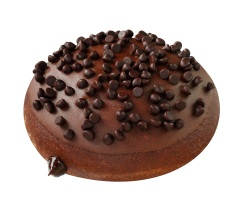Krispy Kreme Brownie Batter Doughnut