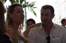 Gilson Rodrigues and Vera Giatti