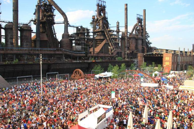 ArtsQuest World Cup at SteelStacks