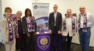 CFBACC Board Members present at the event