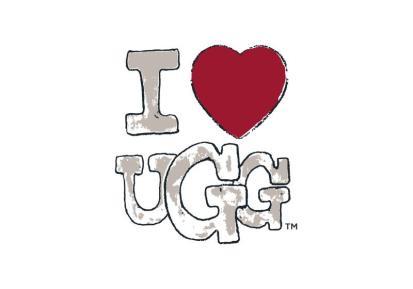 UGG Australia I Heart UGG logo