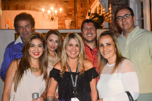 Soco Freire her husband Ed, her daughter and friends