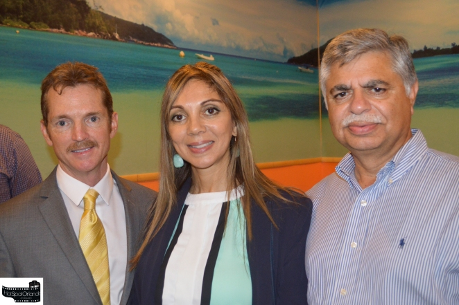 Bill Cloud, Monica Chavero and Khalid Muneer