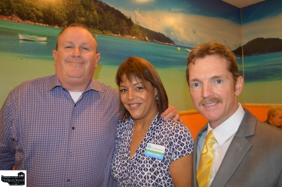 Mike Lublin, Aida Lublin and Bill Cloud