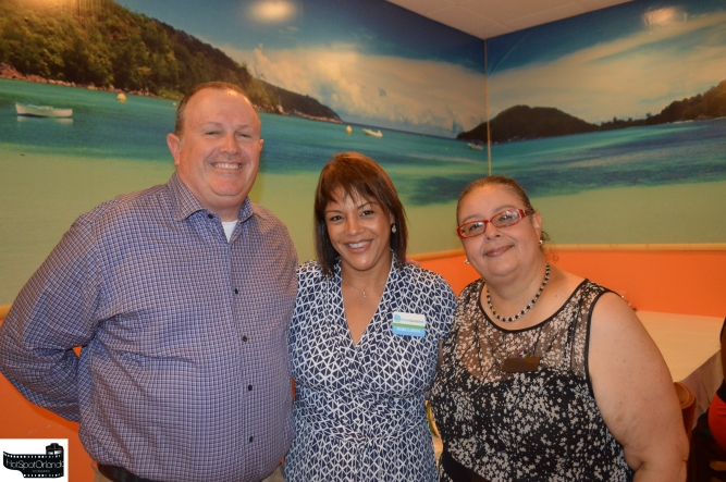 Mike and Aida Lublin with Laiz Rodrigues
