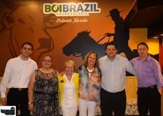 Fabio, Laiz, Amy, Maida, Nelson and partner.