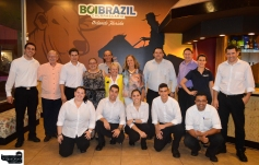 CFBACC Representatives with Nelson Junior BoiBrazil owner, Fabio Paduan and crew