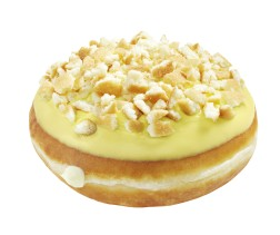 Krispy Kreme Banana Pudding Doughnut
