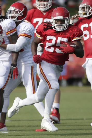 Jamaal Charles Action Shot