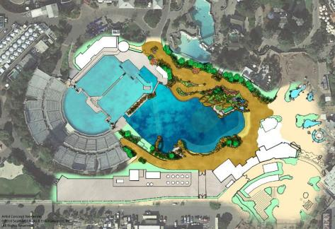 SeaWorld Entertainment Site Plan