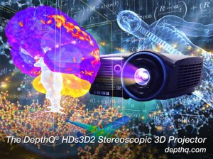 Lightspeed Design Inc DepthQ 3D Projector