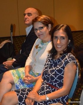 Monica Correa - Bright House Networks and Lis Rejane-Sommerville-The Crowne Plaza Orlando Universal,