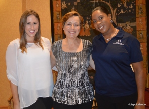Victoria Jennings, Doroti da Cunha, Rechelle Williams
