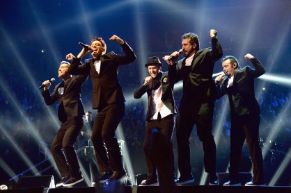 nsync show mtv awards 2013