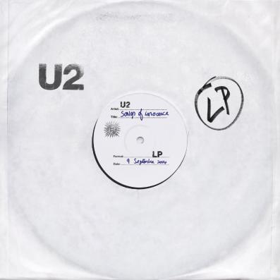 Interscope Records U2 Songs Of Innocence