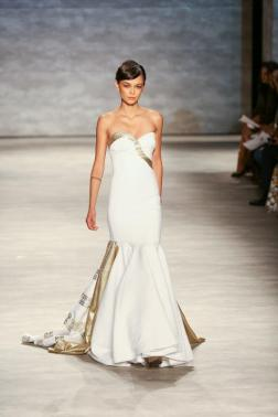 b michael AMERICA Celebration Gown