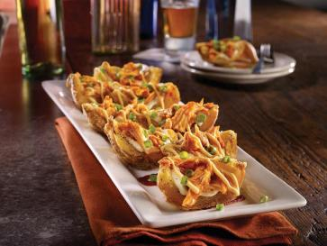 TGI Fridays Sriracha Chicken Potato Skins