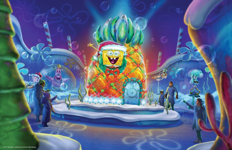 Moody Gardens ICE LAND illustration