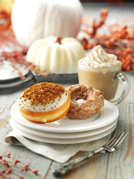 Krispy Kreme Pumpkin Spice and Pumpkin Cheesecake Doughnuts through November 30