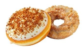 Krispy Kreme Pumpkin Spice and Pumpkin Cheesecake Doughnuts