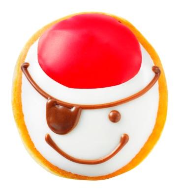 Krispy Kreme Specialty Pirate Doughnut Now Thru Sept 19