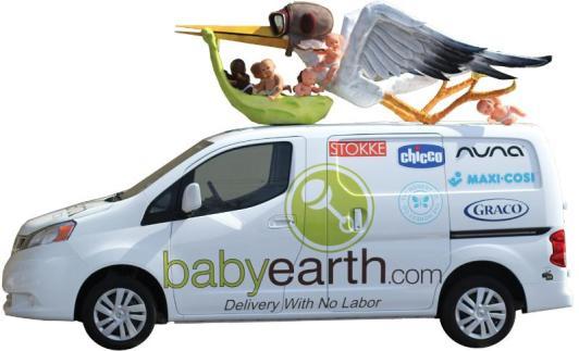 BabyEarth Stork Truck