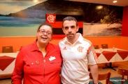 CFBACC President Laiz Rodrigues and Flamengo Media Director