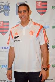 Flamengo Coach Jose Alves Neto