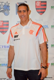Flamengo Coach Jose Alves Neto
